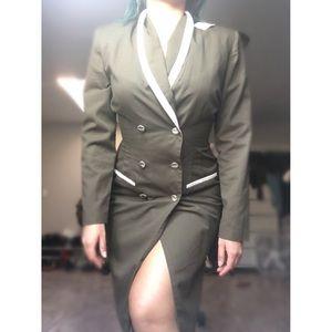 Dresses & Skirts - Military coat/dress.